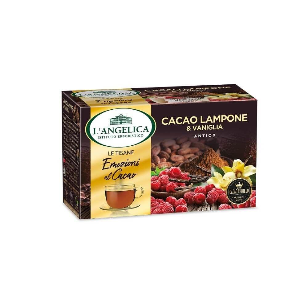 Tisana Cacao Lampone e Vaniglia