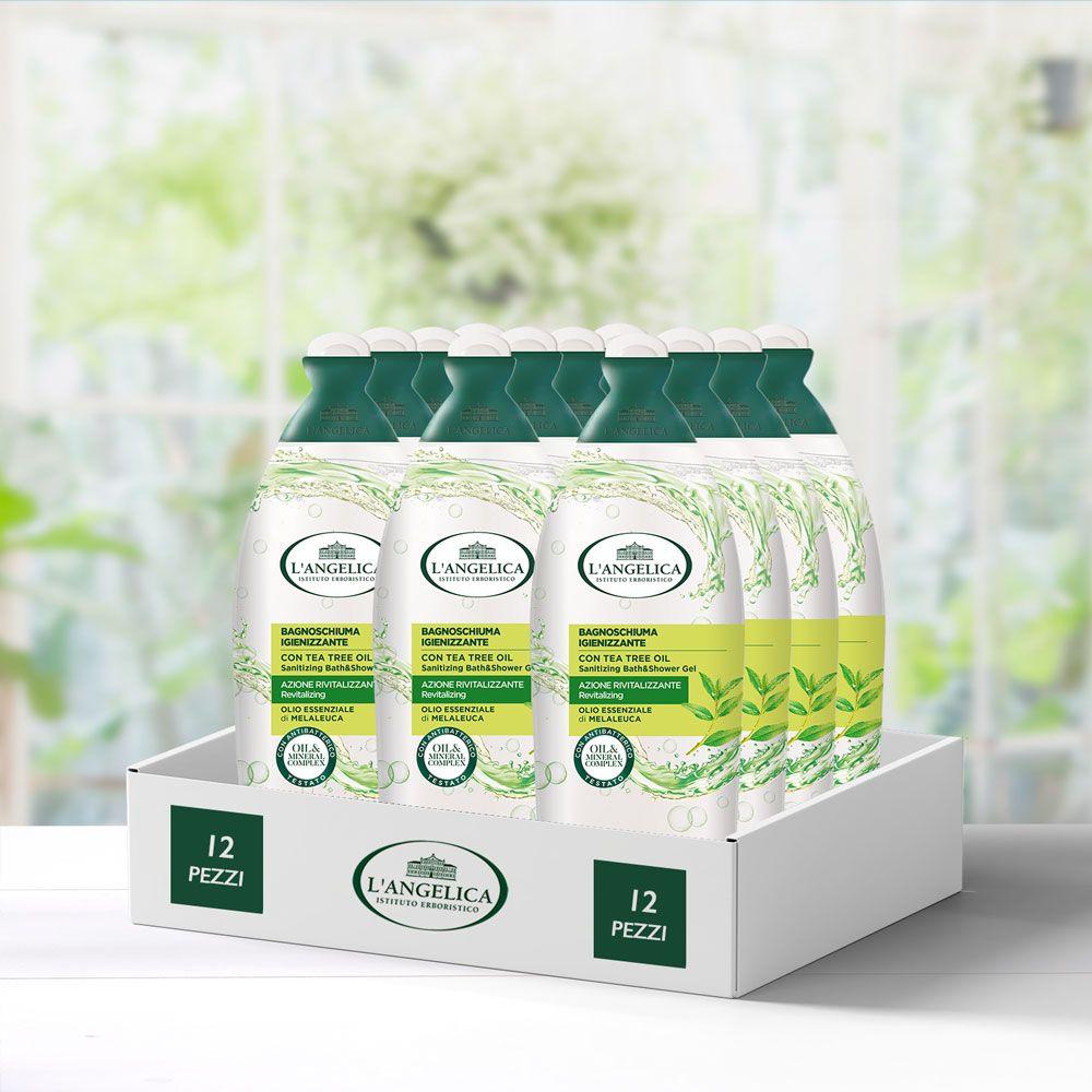 Multipack 12 pezzi Bagnoschiuma Igienizzante Con Olio di Melaleuca -20%