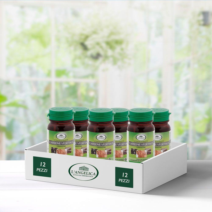 Multipack 6 pezzi Carbone Vegetale Integratore sgonfiante -25%