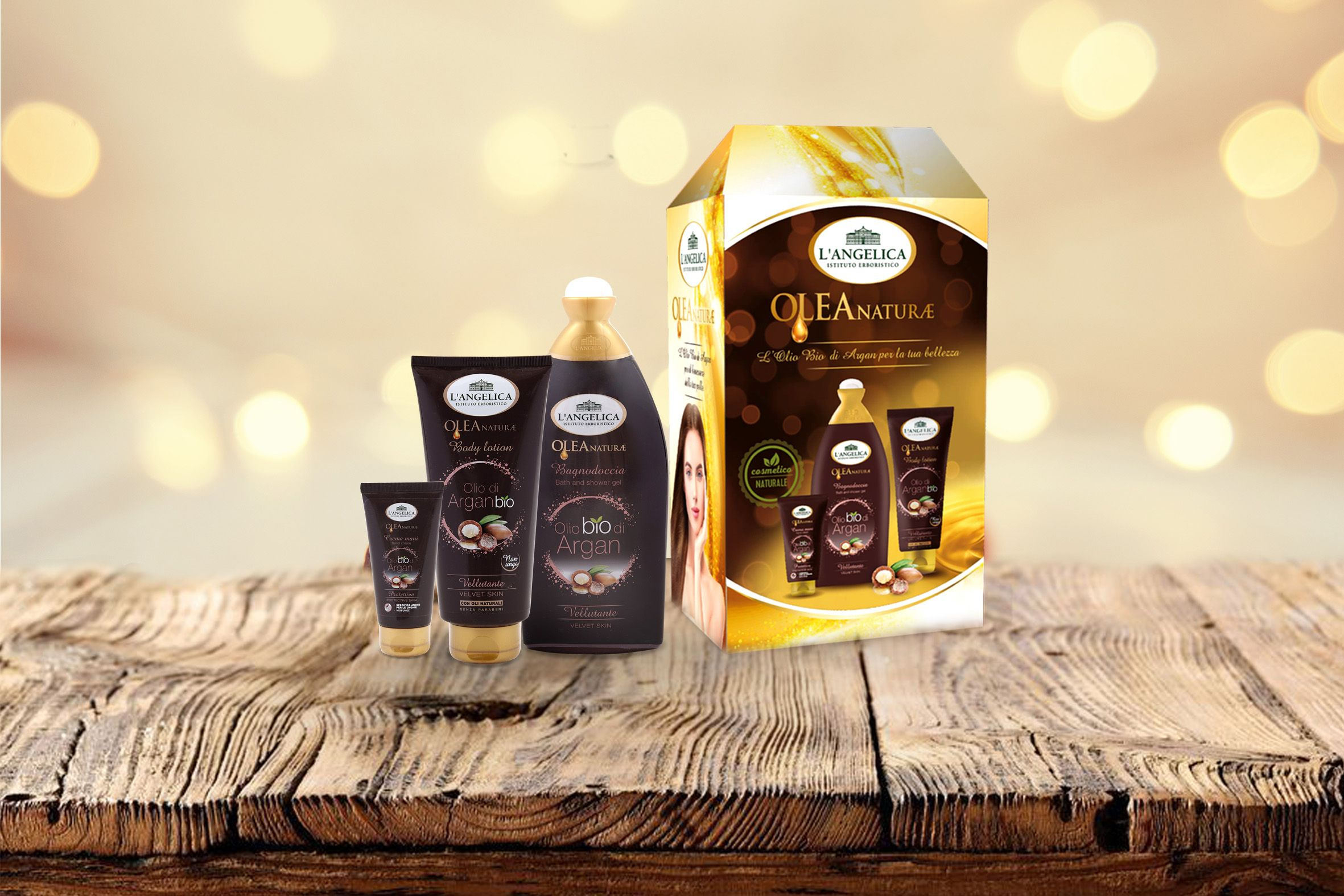 Cofanetto regalo Argan Olio di Argan Skin Care