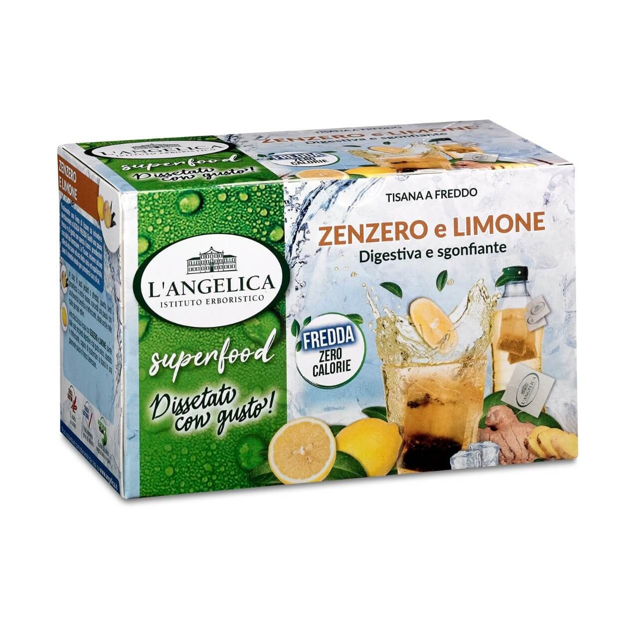 Tisana a Freddo Superfood Zenzero e Limone