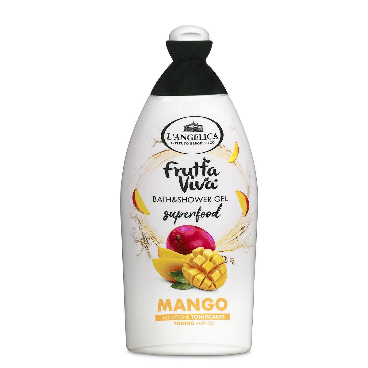 Bagnoschiuma Mango ad azione tonificante