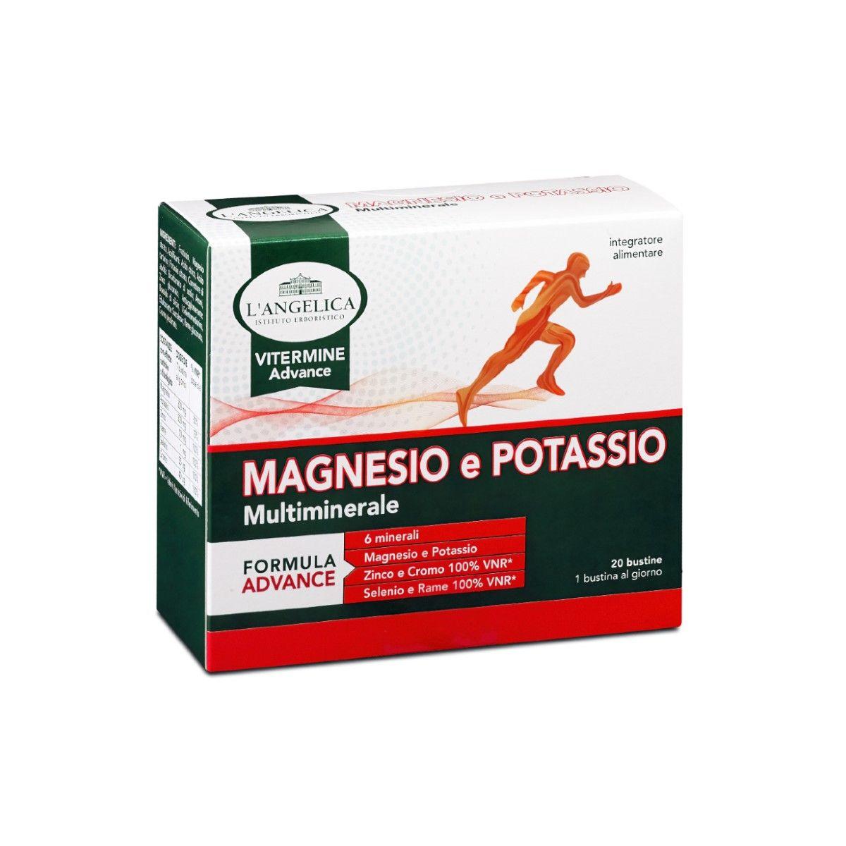Integratore Magnesio e Potassio