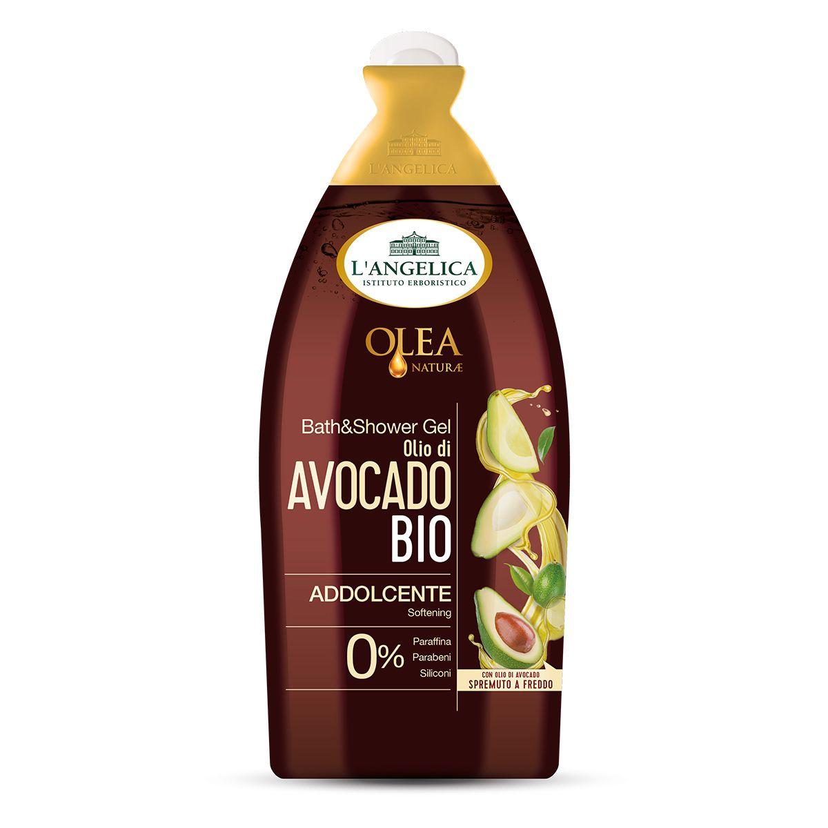 Bagnodoccia Addolcente Olio Bio di Avocado