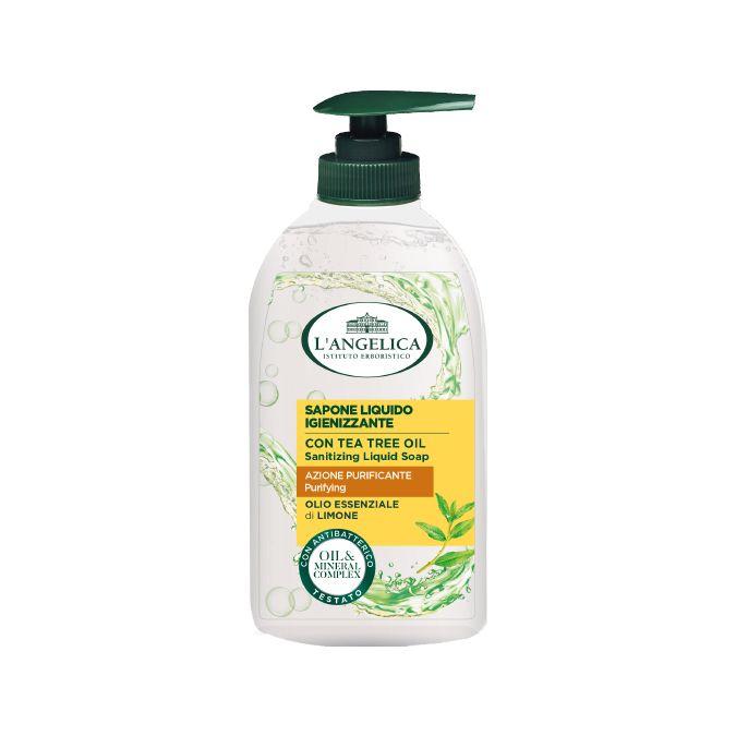 Sapone Liquido Azione Igienizzante con Olio essenziale di Limone