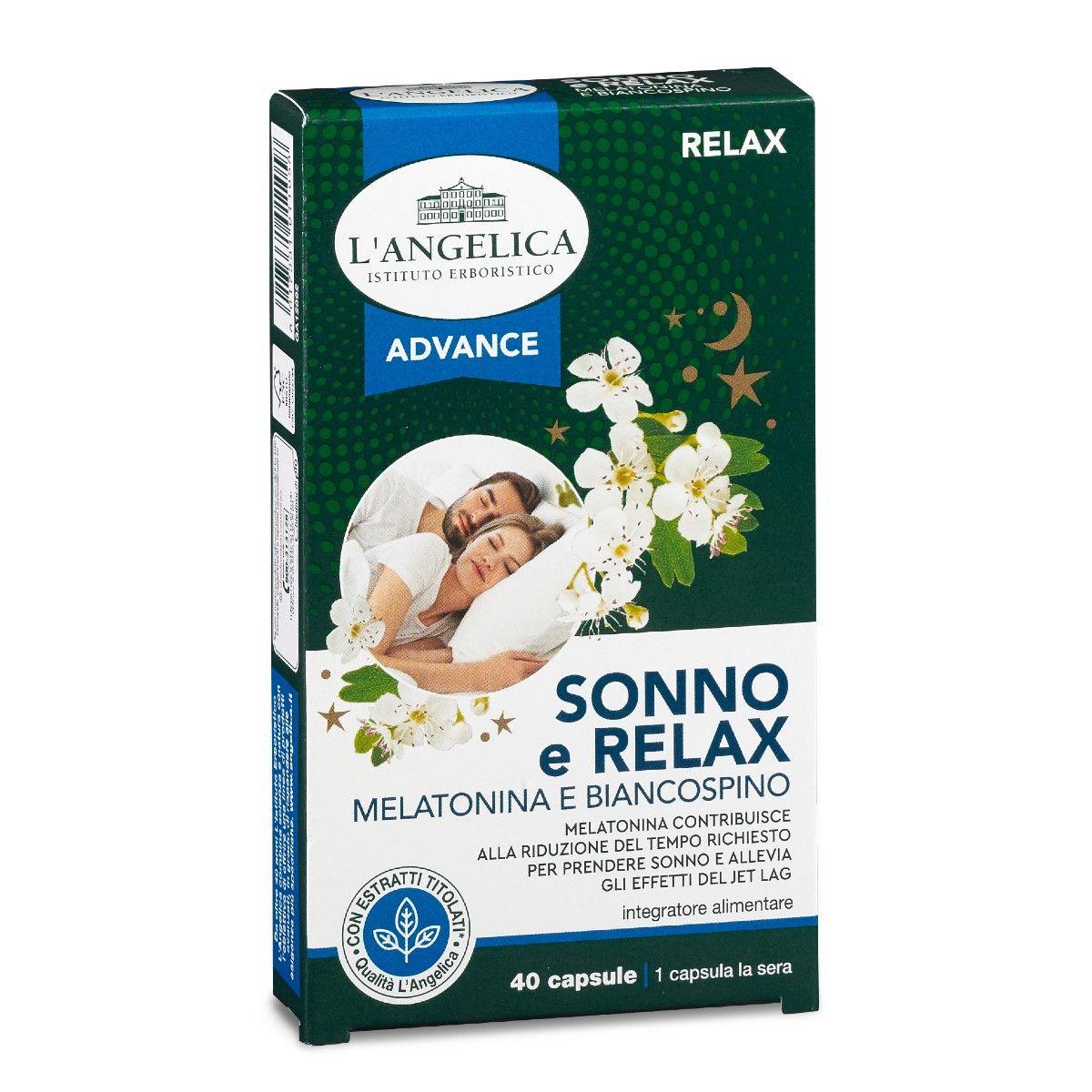 SONNO E RELAX Melatonina e Biancospino