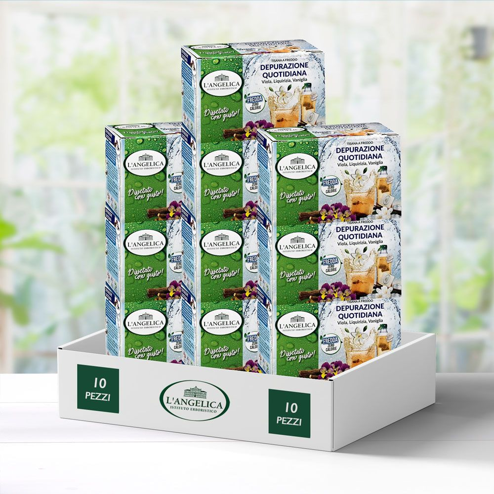 Multipack 10 pezzi Tisana Depurazione Quotidiana -30%