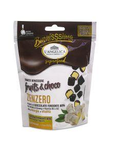 Choco Snack Zenzero con Vitamine B6 e B12 utili per il sistema nervoso
