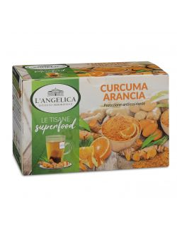 Tisana Superfood Curcuma e Arancia