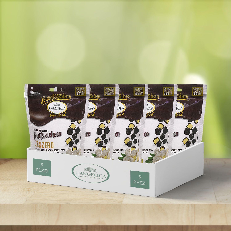 Box da 5pz Choco Snack Zenzero -25%