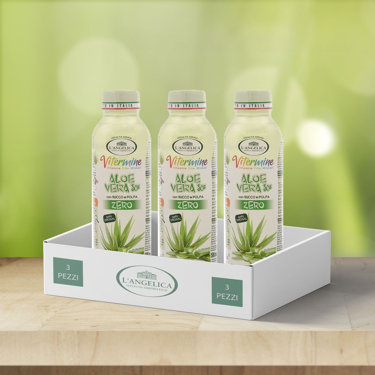 Box da 3pz Aloe Drink Original -30%