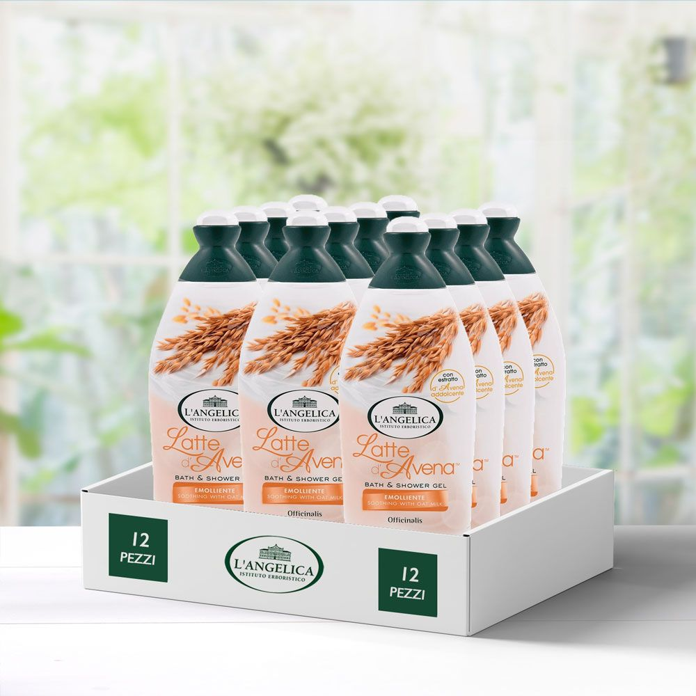 Multipack 12 pezzi Bagnoschiuma Latte d'Avena -25%
