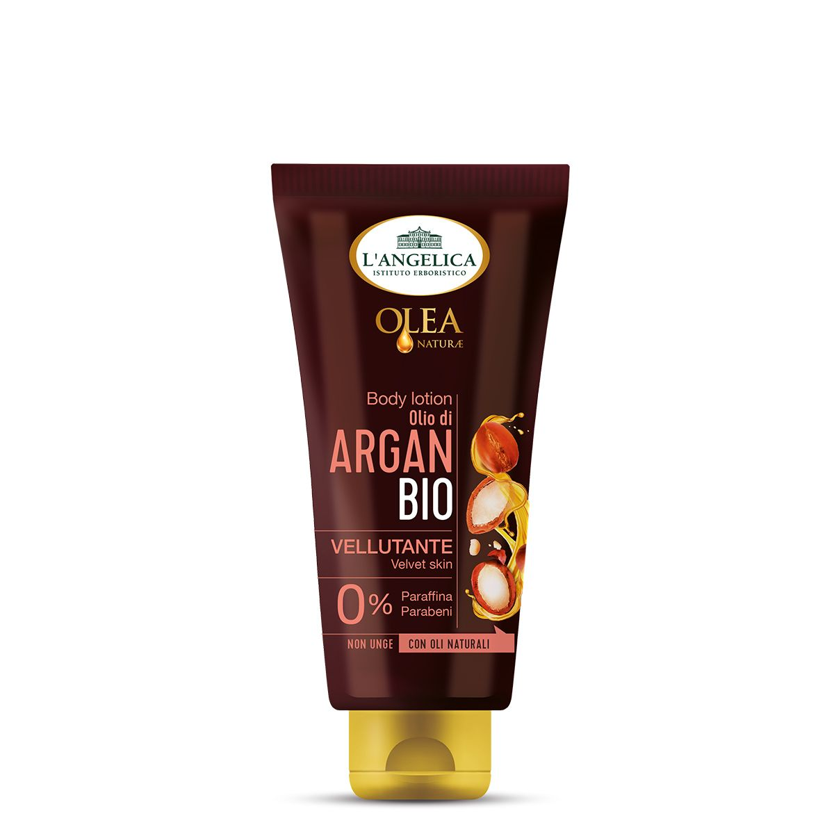 Body Lotion Vellutante con Olio Bio di Argan
