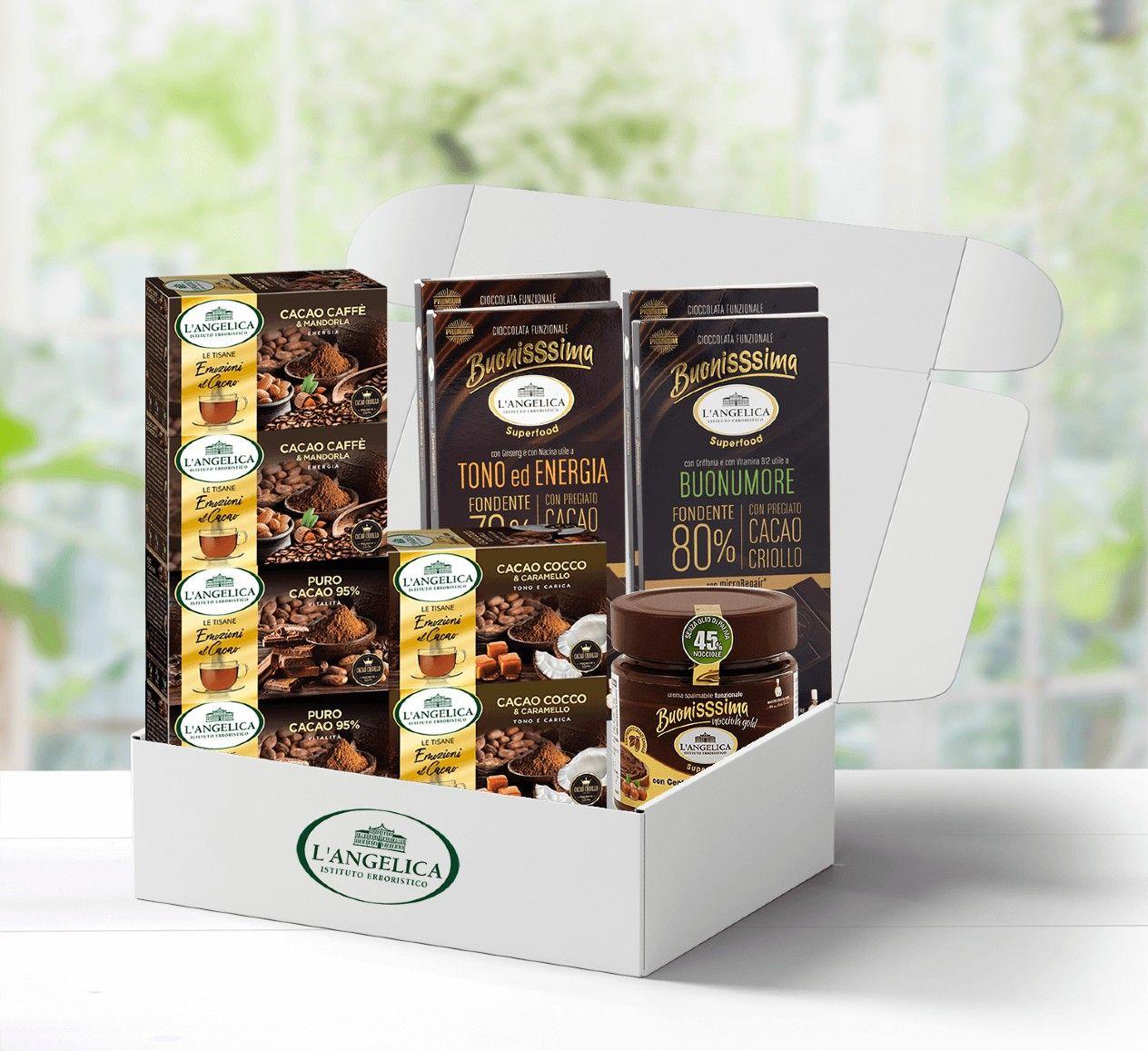 Box il piacere del cacao
