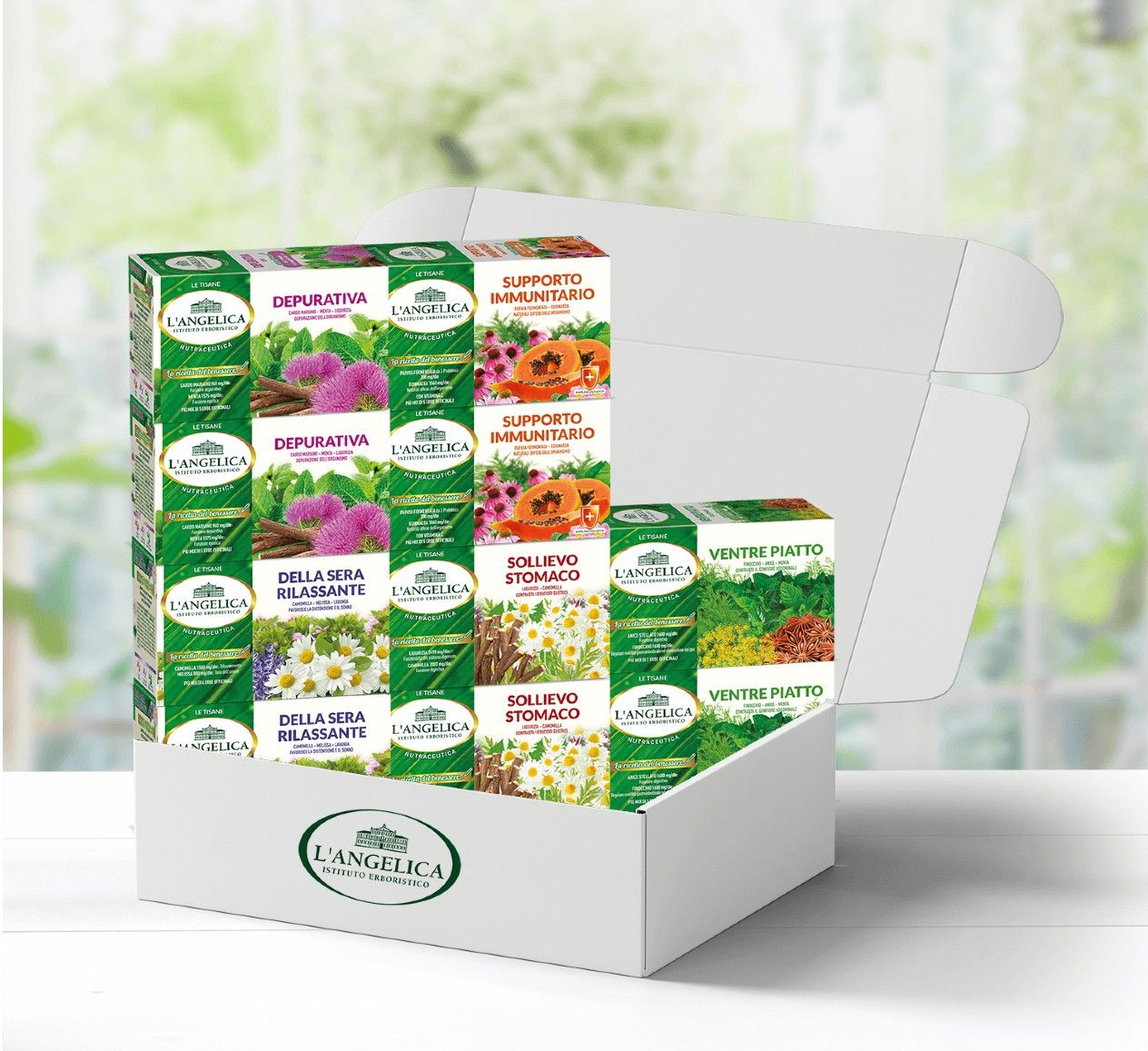 Box ricetta del benessere
