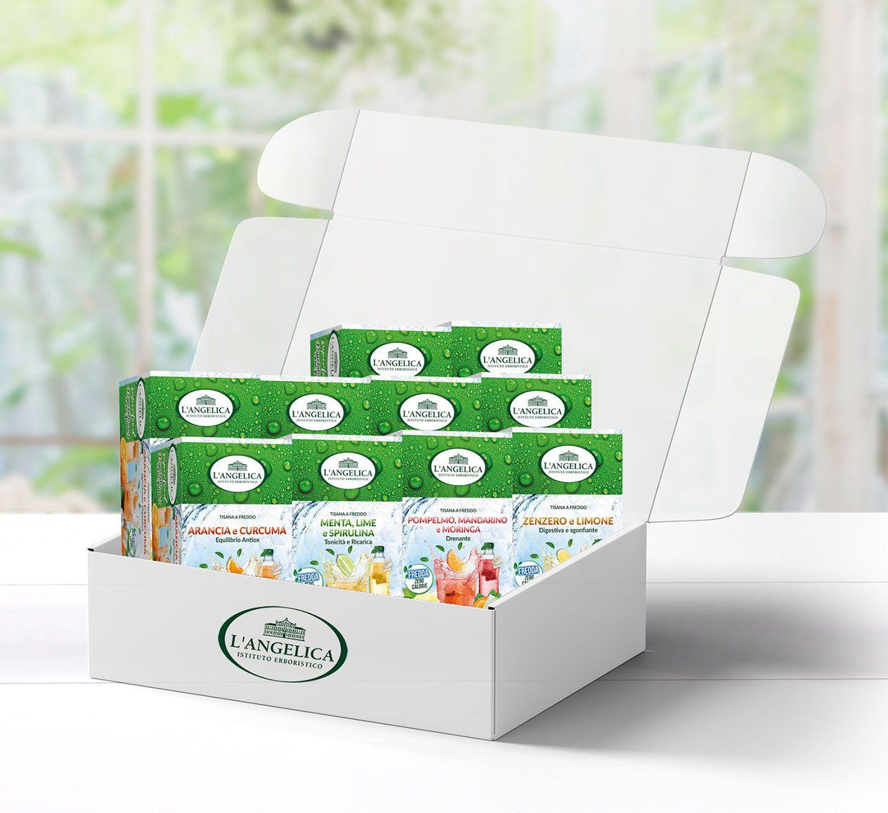 Box Scorta Tisane Fredde Superfood