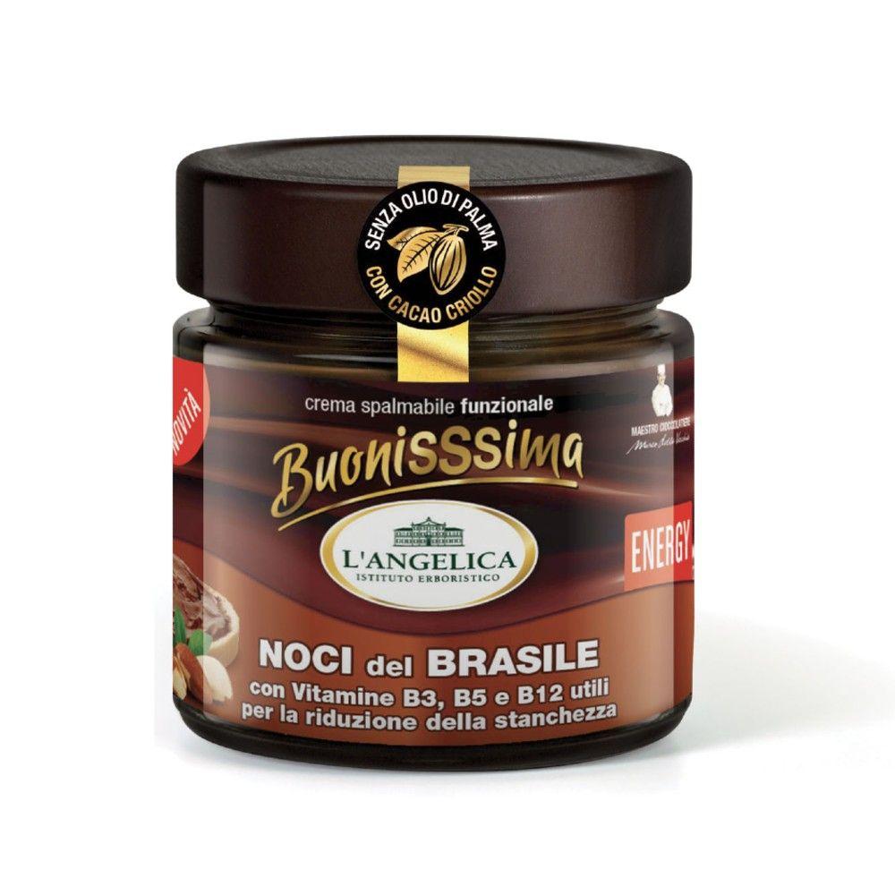 Crema Spalmabile - Cioccolato con Noci del Brasile