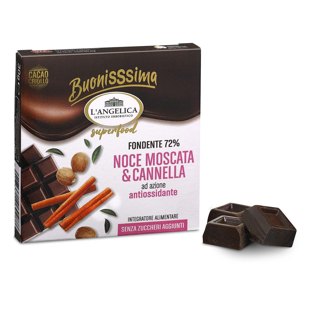 BuonisSsima Noce Moscata & Cannella - Tavoletta di Cioccolato