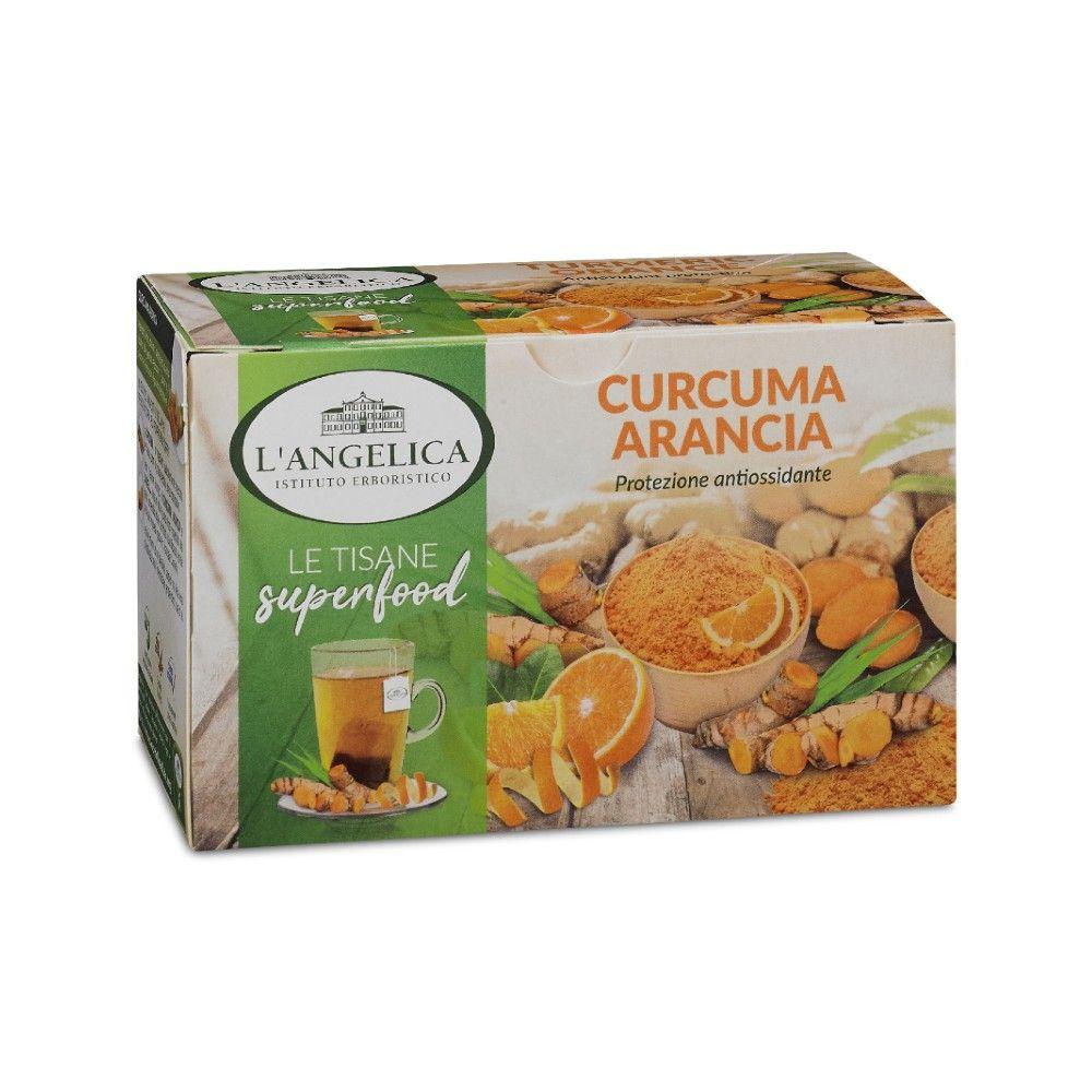 Tisana Superfood Curcuma e Arancia