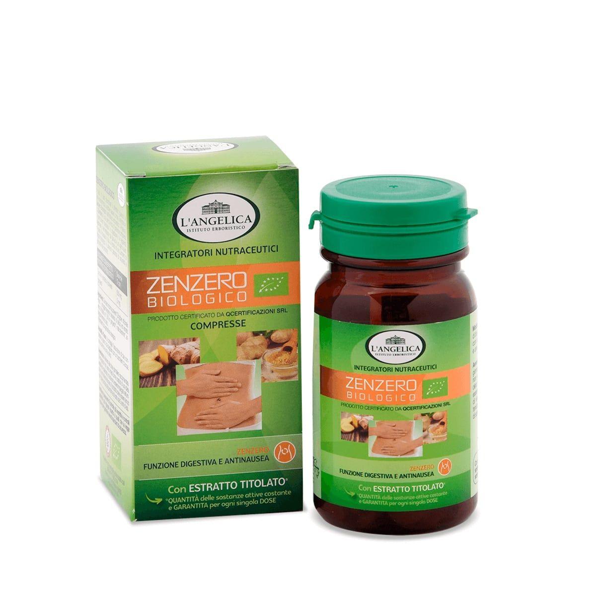 Zenzero Biologico - Integratore benessere stomaco