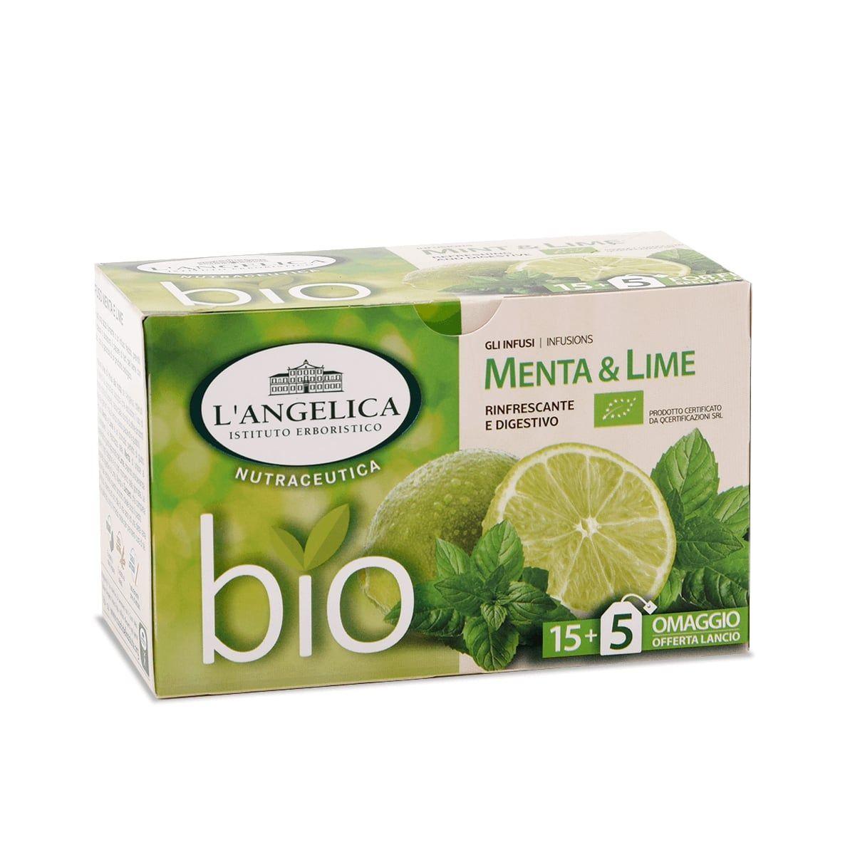 Infuso biologico alla Menta e Lime