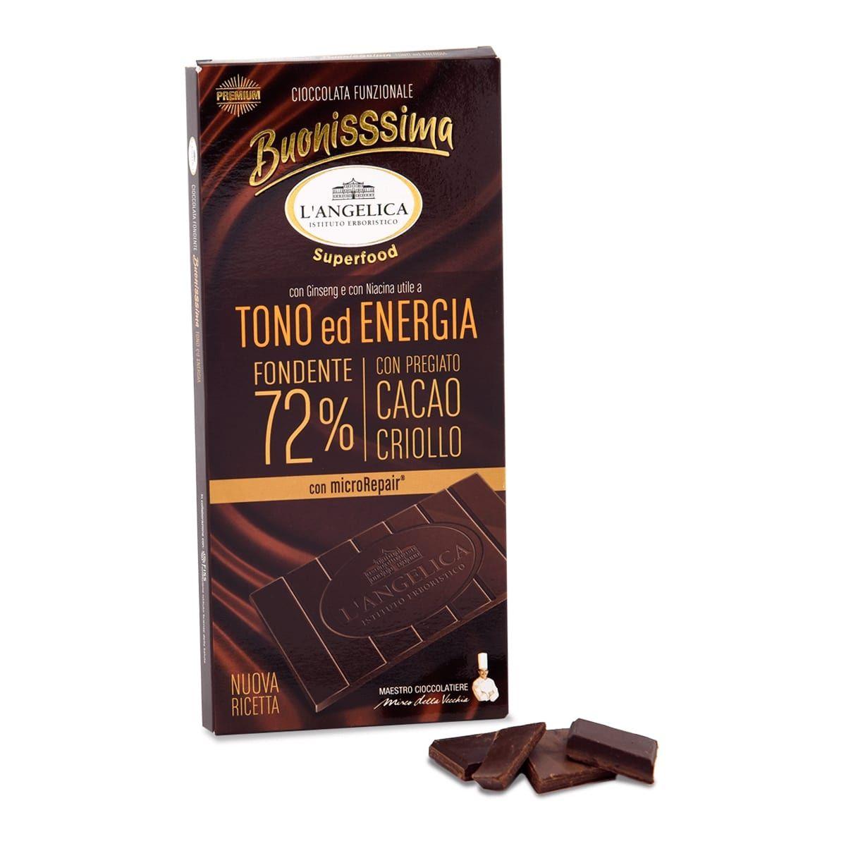 BuonisSsima Tono ed Energia - Tavoletta di Cioccolato