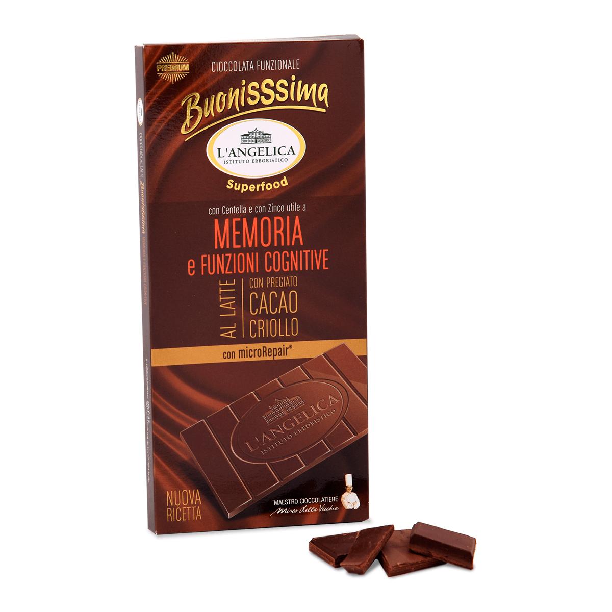 BuonisSsima Memoria e Funzioni Cognitive - Tavoletta di Cioccolato