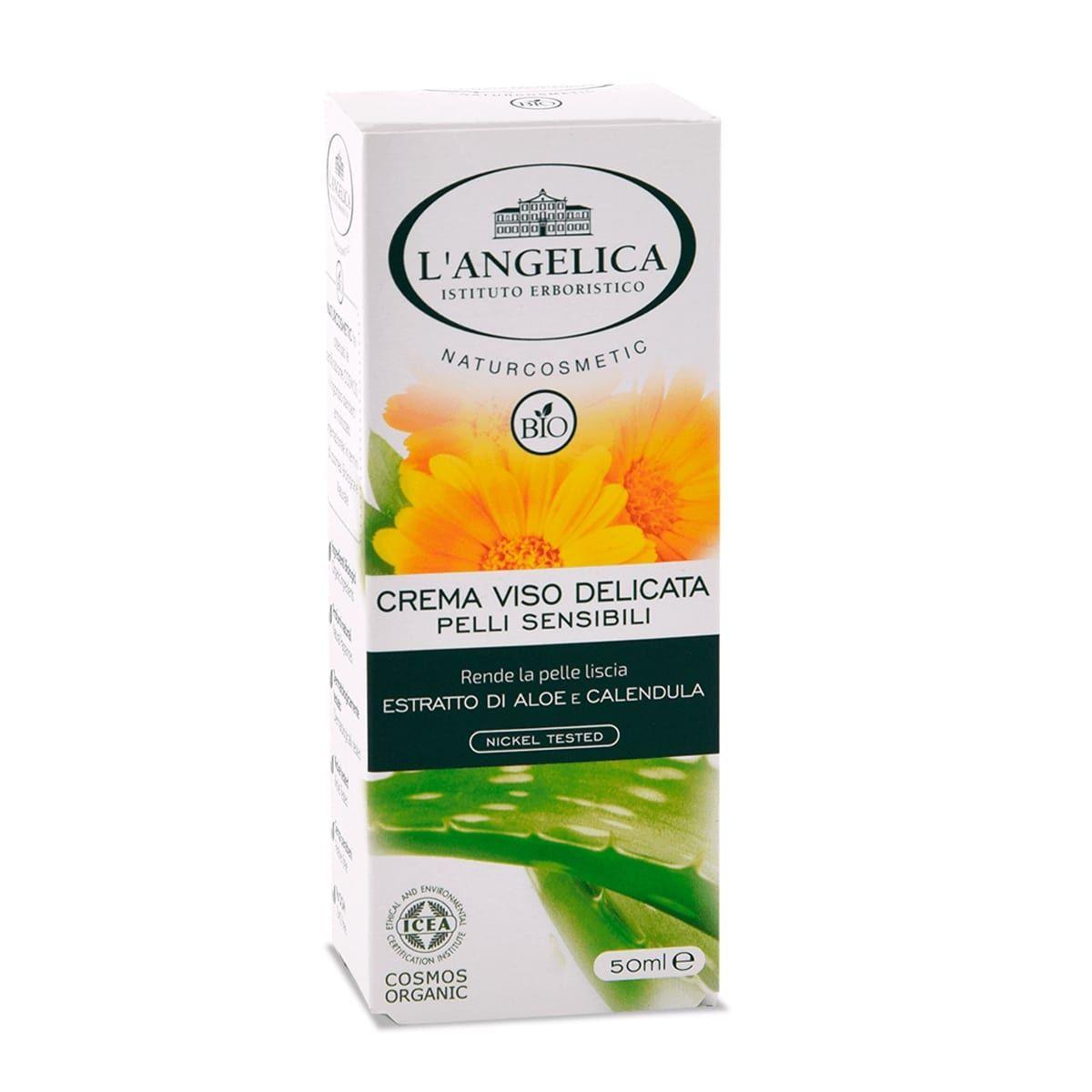Crema Viso Bio - per Pelli Sensibili