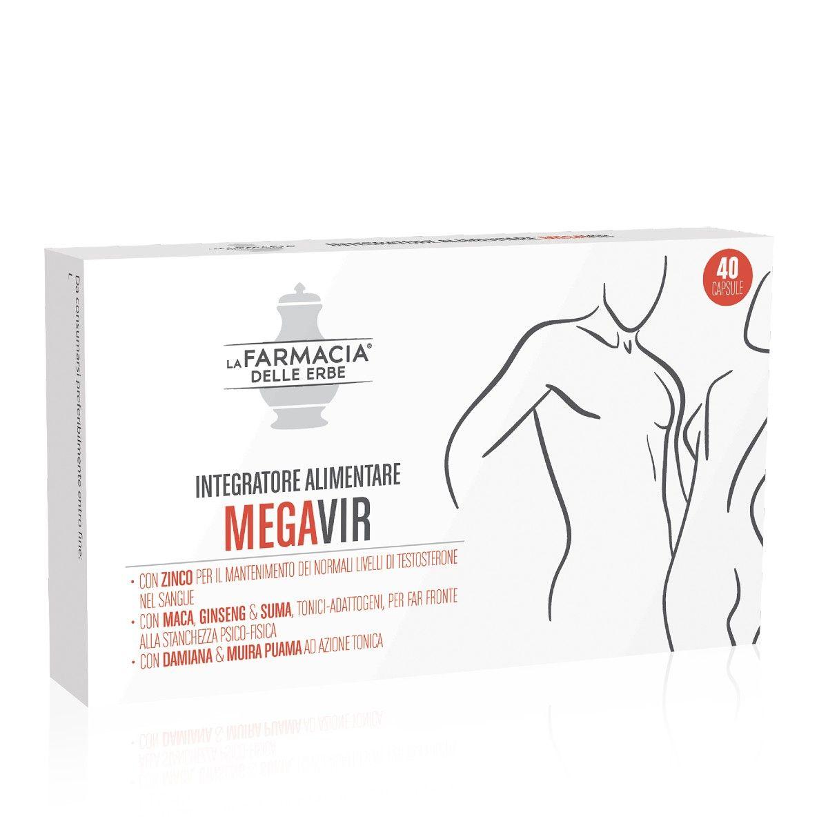 Megavir Integratore 40 Capsule