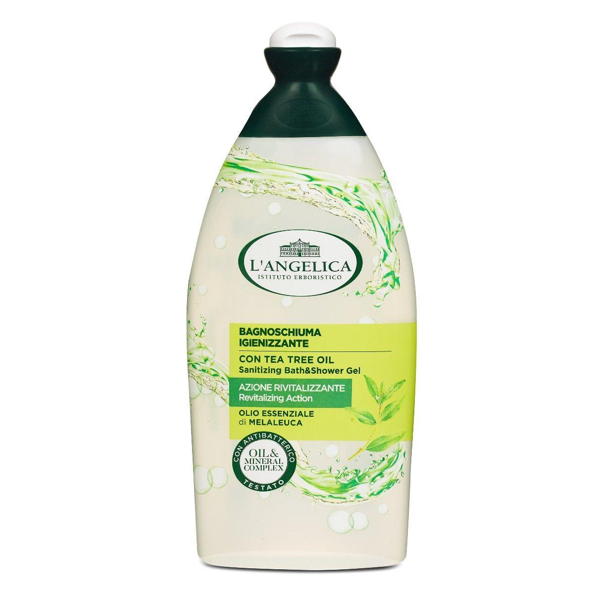 Bagno Schiuma Azione Igienizzante Con Olio essenziale di Melaleuca