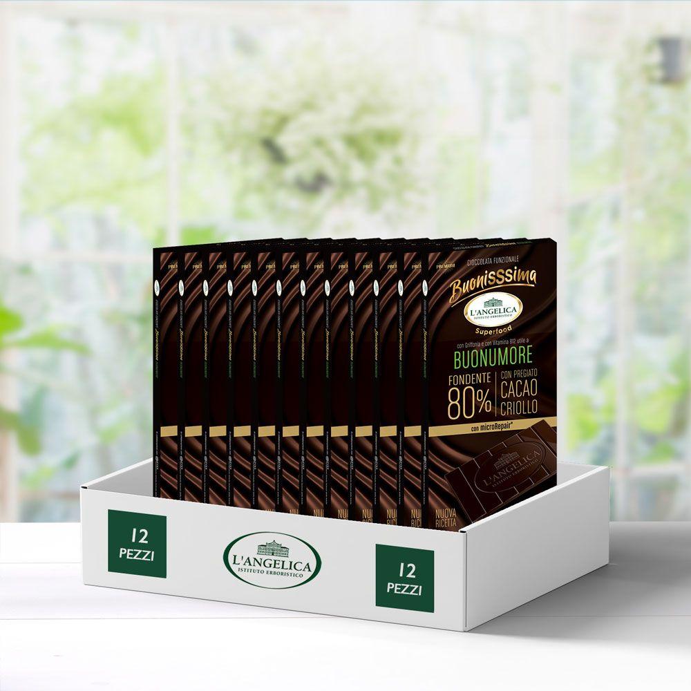 Multipack 12 pezzi BuonisSsima Buonumore - Tavoletta di Cioccolato -20%