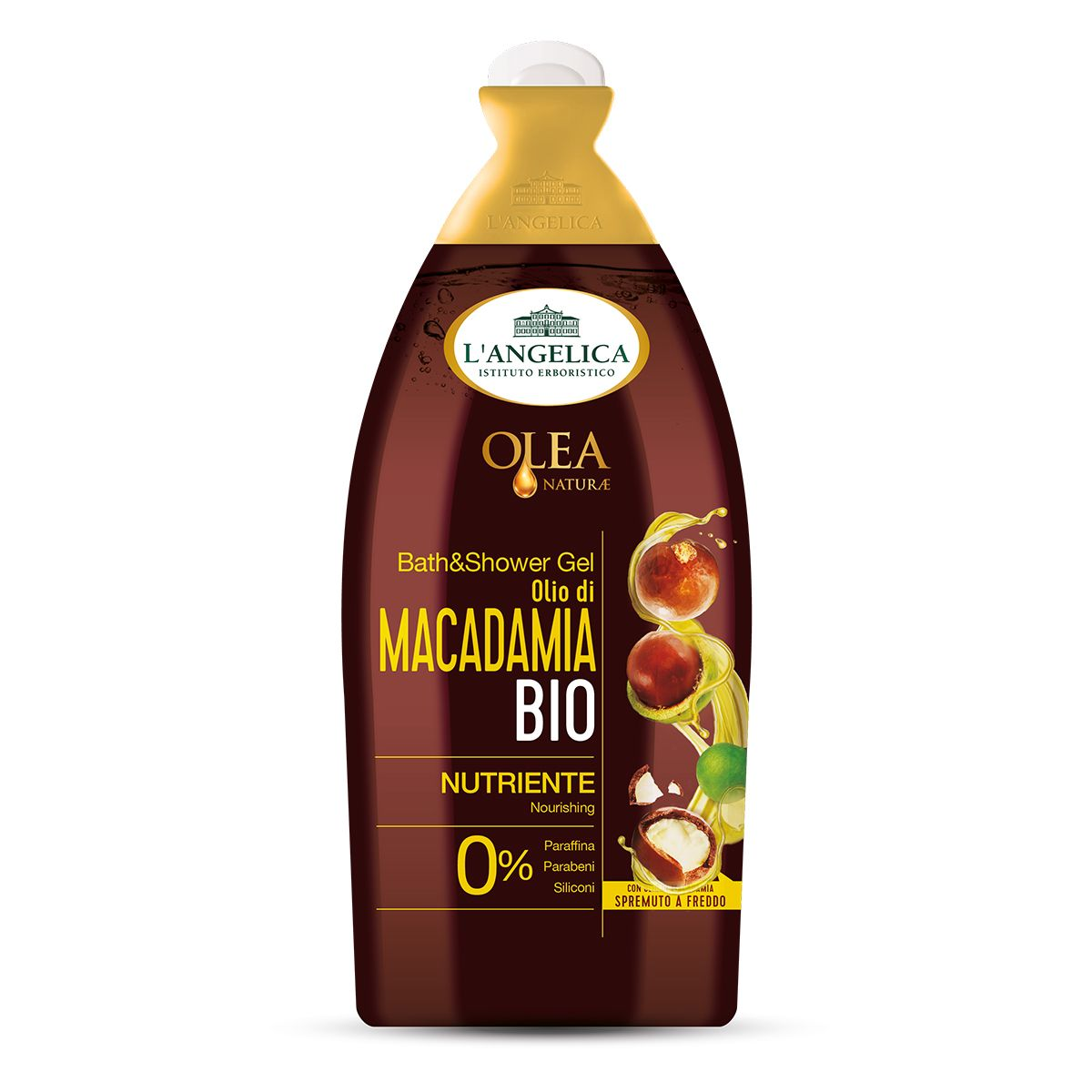 Bagnodoccia Emolliente Olio Bio di Macadamia
