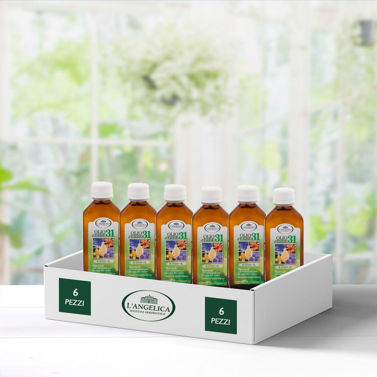 Multipack 6 pezzi Olio d'erbe 31 -50%