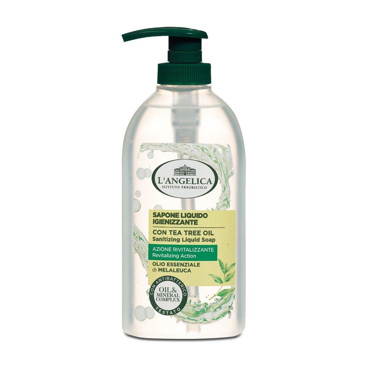 Sapone Liquido Azione Igienizzante con Olio essenziale di Melaleuca
