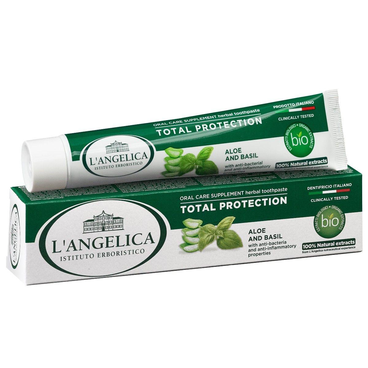 Dentifricio Protezione Totale Aloe e Basilico